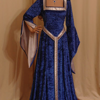 ELVEN DRESS medieval renaissance  fairy dress  custom made