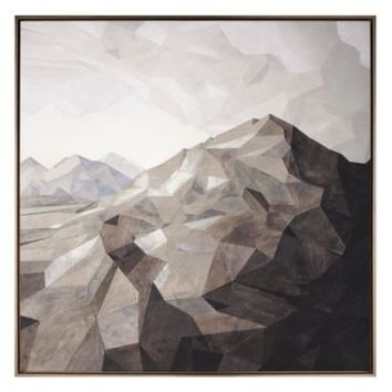 Low Poly Landscape | Canvas Artwork | Art by Type | Art | Z Gallerie