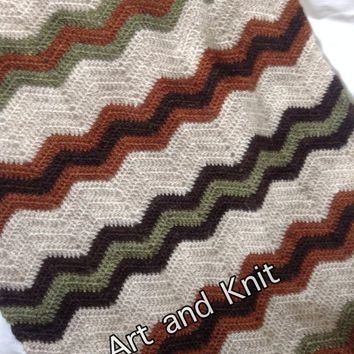 Blanket, baby carriage, stroller, Icelandic wool, kids, throw, zig zag, afghan, blanket, wheelchair, baby, nursery, outdoors, baby blanket