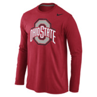 Nike College Logo Long-Sleeve (Ohio State) Men's T-Shirt