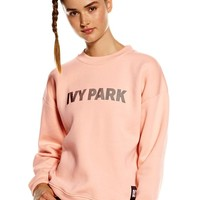 Silicon Logo Sweat – Blush