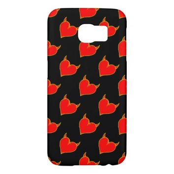 Heart Pattern Samsung Galaxy S6 Case