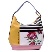 FREE YOUR MIND PRINT HOBO BAG - NEW ARRIVALS