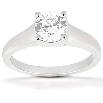1.25 carat E VVS1 DIAMOND solitaire ring white gold