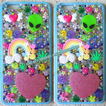 Phone Case-- iPhone 6 PLUS-- Intergalactic Springtime Kawaii Case