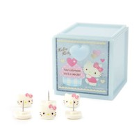 Hello Kitty Stacking Case with Pins: Blue