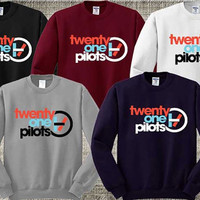 Twenty One Pilots Sweater Sweatshirt Crewneck Men or Women Unisex Size