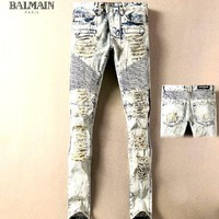 Pierre Balmain  Fashionable casual jeans