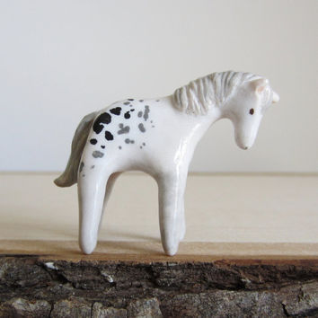 appaloosa ornament by HandyMaiden on Etsy