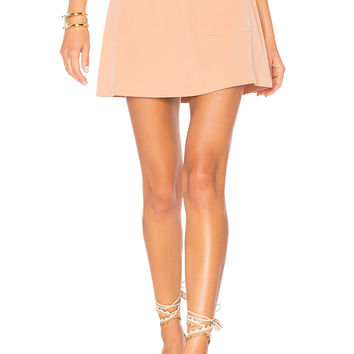 Lovers + Friends Brighton Skirt in Dusty Pink | REVOLVE