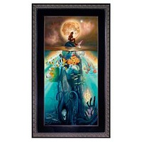 Framed Limited-Edition ''Fathoms Below'' The Little Mermaid Giclée | Disney Store