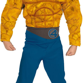 boy's costume: the thing muscle to 12