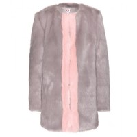 Gloria faux fur coat