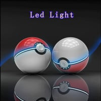 Hot New Pokemon Go Ball Phone Portable Dual USB Charger Power Bank Battery 12000mAh Cosplay Accessories Weapon