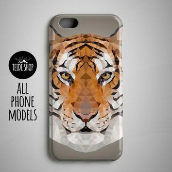 Geometric Tiger Art iPhone 8 Case iPhone 6S Case