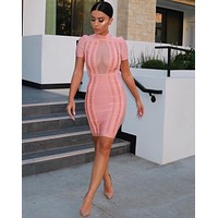 Kioto celebrity style bodycon dress