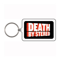 Death By Stereo Plastic Key Chain Multi