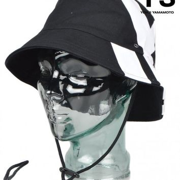 Y-3 BY YOHJI YAMAMOTOY3 BUCKET HAT - BLACK