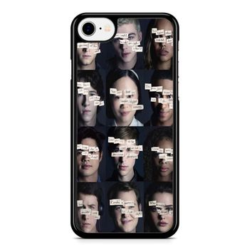 13 Reasons Why 1 iPhone 8 Case