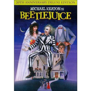 Beetlejuice (DVD) (Anniversary Edition) (Deluxe Edition) (Soft-matted Enhanced Widescreen for 16x9 TV) (Eng/Fre/Spa) 1988