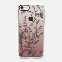 botanical in black iPhone 7 Carcasa by Marianna | Casetify