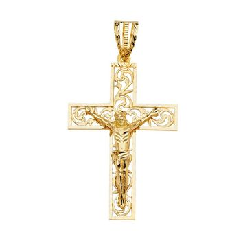 Large Jesus Cross Pendant