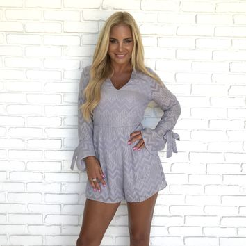 Clean Slate Gold Lined Romper