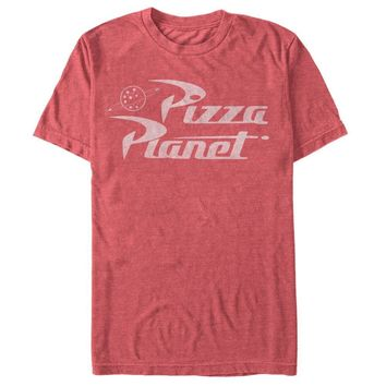 Disney Pixar Toy Story Pizza Planet Logo Mens Graphic T Shirt