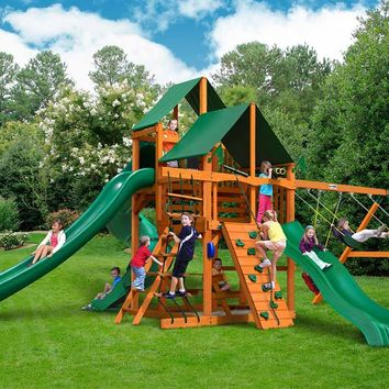 Gorilla Playsets Great Skye II Supreme CG Wooden Swing Set