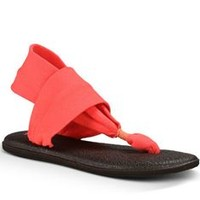 Sanuk Yoga Sling 2 Sandals in Coral SWS10001-CORL
