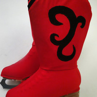 Cowboy Skate Boot Covers / Cowgirl Skate Boot Covers / Figure Skating / Ice Skating / Roller Skating