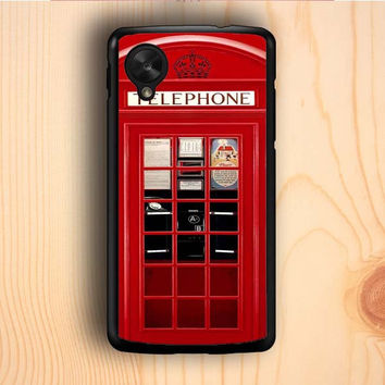 Dream colorful Vintage London Phone Boothm Nexus 5 Case