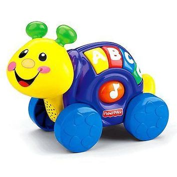 Fisher-Price Fisher Price: Roll-Along Pals Snail