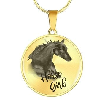 Horse Girl Bracelet Jewelry, Customizable with Engraving