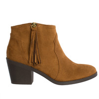 Isabella Fringe Ankle Booties-FINAL SALE