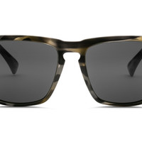 Electric - Knoxville XL Vintage Tort Grey Sunglasses, OHM Grey Lenses