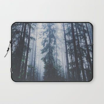 The mighty pines Laptop Sleeve by happymelvin