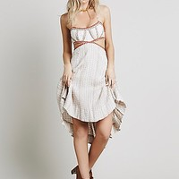 Free People Womens Smock Stitch Dress