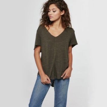 project social t - wearever tee - army green