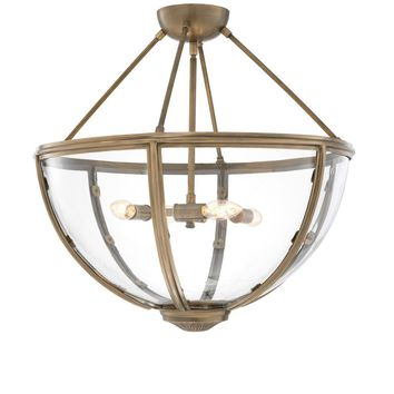Brass Ceiling Lamp | Eichholtz Deveraux