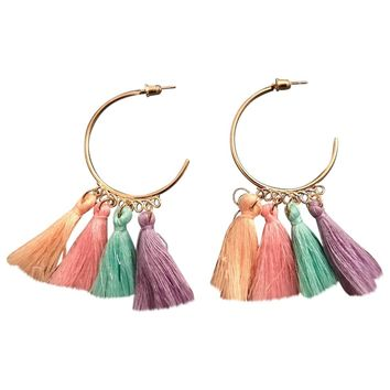 Earrings NON SIGNÉ / UNSIGNED Multicolour