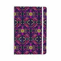 "Miranda Mol ""Boho Ornament Pink"" Pink Green Pattern Abstract Mixed Media Digital Everything Notebook"