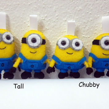 Minion Despicable Me - Keychain/Ornament/Magnet/Plush