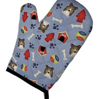 Dog House Collection Sheltie Oven Mitt BB4021OVMT