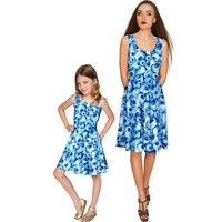 Whisper Mia Fit & Flare Skater Mother Daughter Dress
