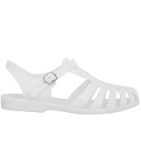 Angelica Jelly Sandal - White