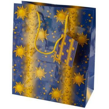 Medium Sun & Stars Gift Bag Set Of 30 Pack