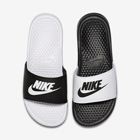 The Nike Benassi JDI Mismatch Women's Sandal.