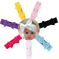Hair Accessories Baby Hair Soft Mesh Bowknot Hair Band [8322964289]