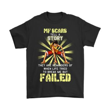 PEAPCV3 Luffy - My Scars Tell A Story One Piece Shirts
